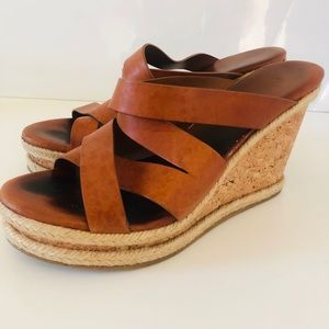 Jimmy Choo Wedge Heel Sandals Size 9.5